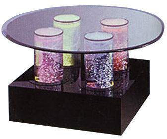 TR-604 Aqua Cocktail Table - Soothing Company