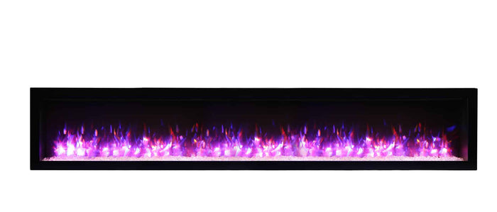 Amantii 88″ Symmetry Electric Fireplace - Soothing Company