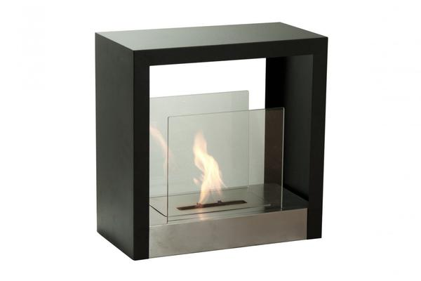 Ignis Tectum S Freestanding Bio Ethanol Fireplace - Soothing Company