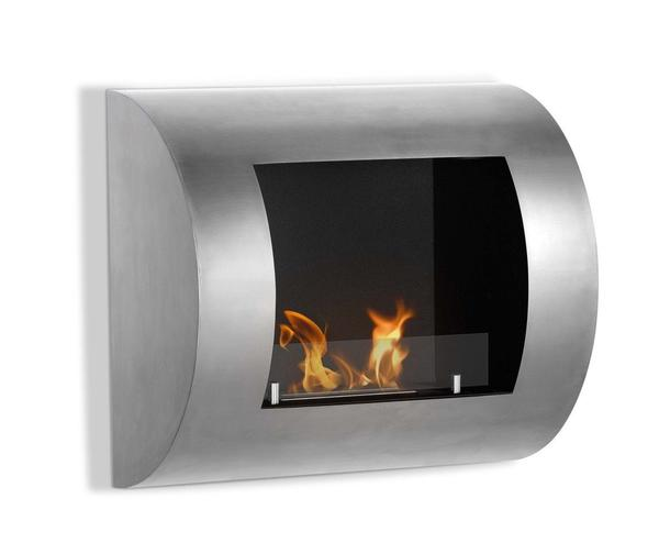 Ignis Luna Wall Mount Ethanol Fireplace - Soothing Company