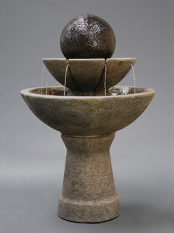 2-Tier Zen Fountain - Tall
