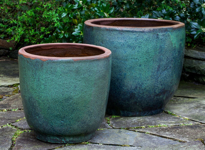 Nari Planter in Rustic Green - Soothing Company