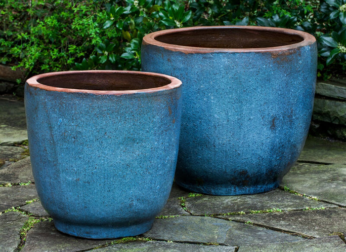 Nari Planter in Rustic Blue - Soothing Company