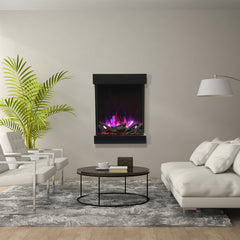 Amantii 2939-Tru-View-XL 3 Sided Electric Fireplace - Soothing Company
