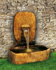 Large Arch Monolith Garden Fountain - Soothing Company