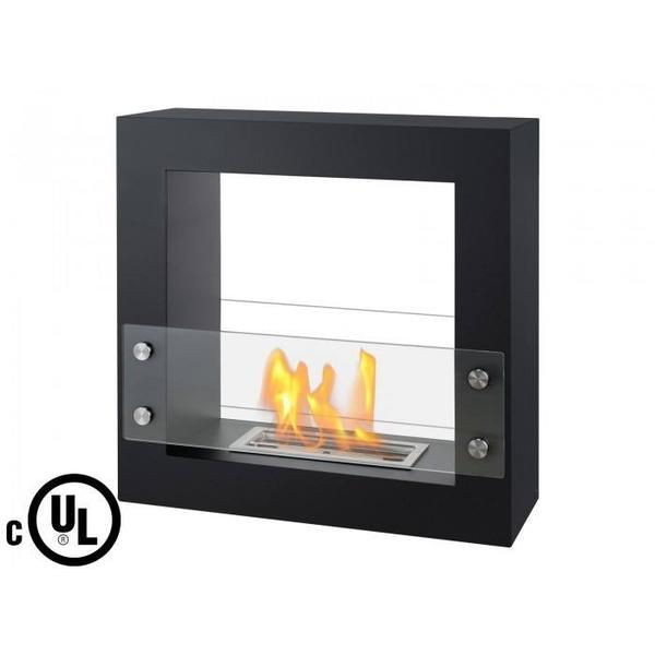 Ignis Lisbon Freestanding Ventless Ethanol Fireplace - Soothing Company