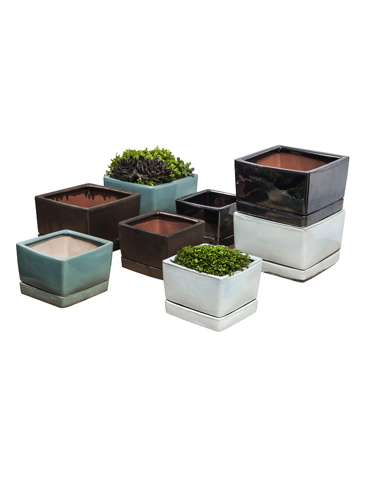 Low Cube with Saucer - Set of 8 - Soothing Company