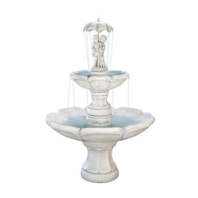 April Showers Tiered Garden Fountain - Soothing Company