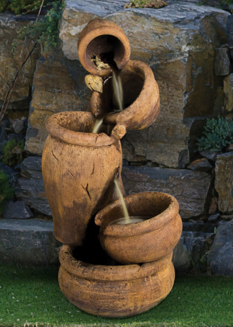 Balancing Act Garden Fountain - Soothing Company