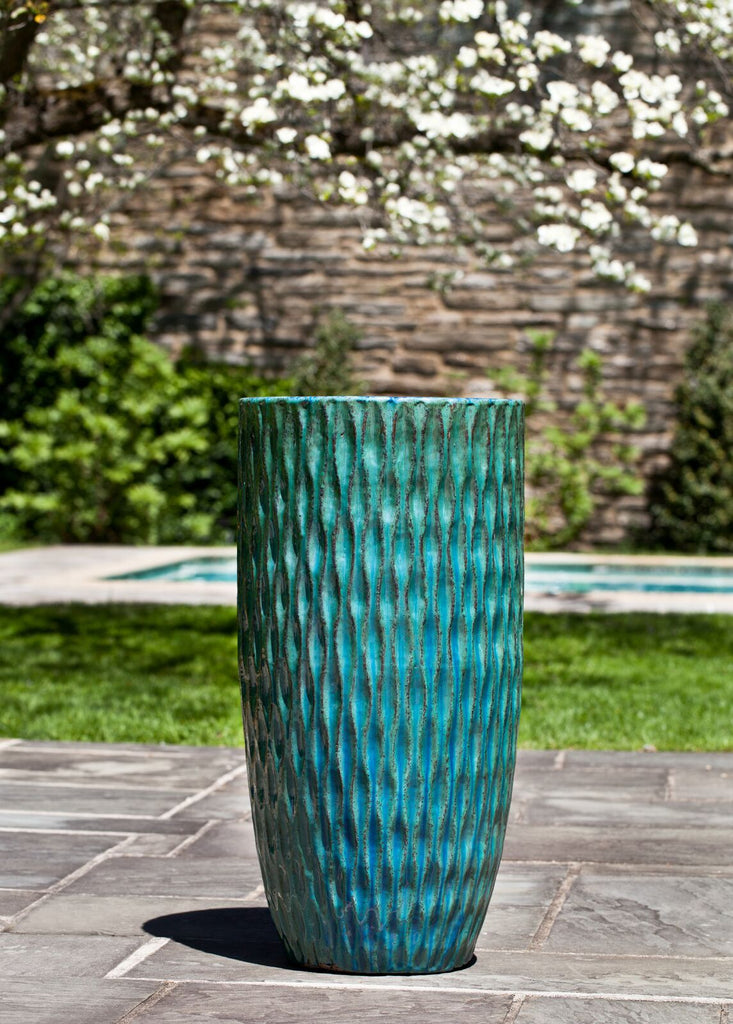 Round Palisades Planter - Weathered Copper - Soothing Company