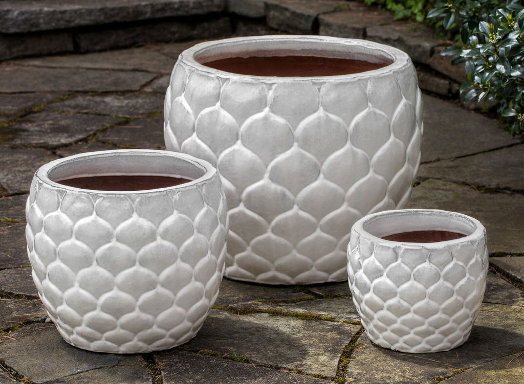 Pina Planter - Set of 3 in Milk - Soothing Company