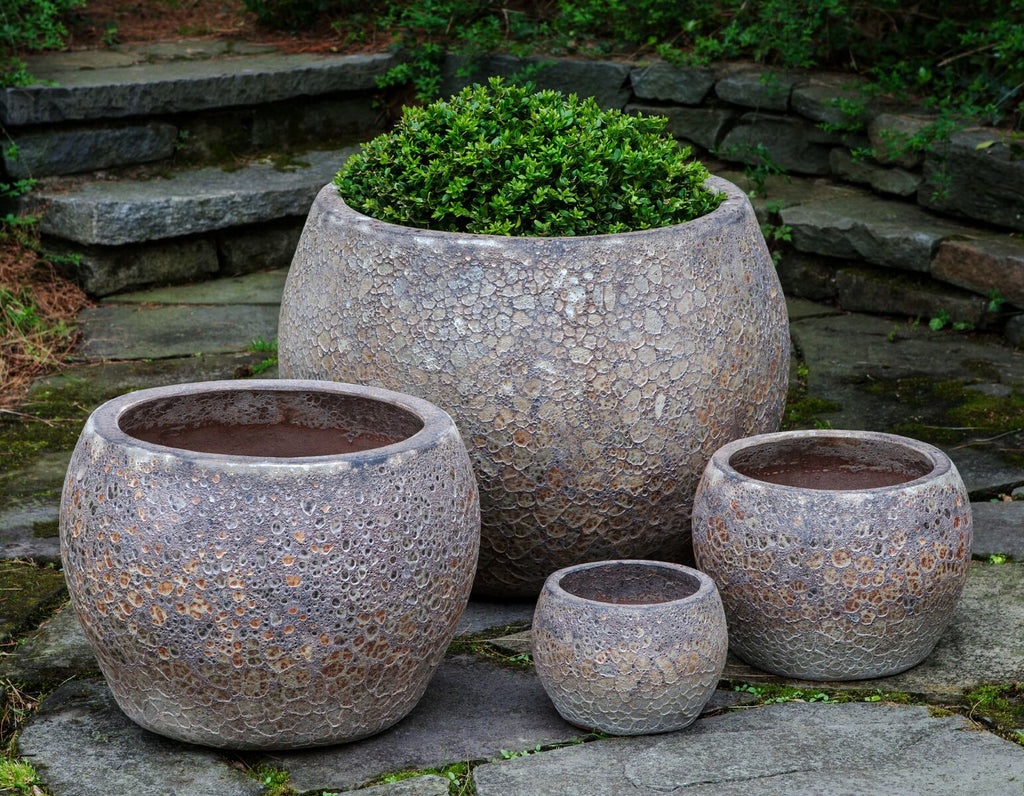 Naxos Planter - Set of 4 in Angkor - Soothing Company