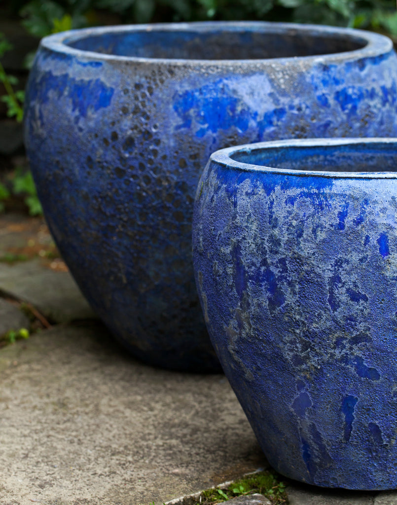 Symi Planter - Set of 3 in Angkor Blue - Soothing Company