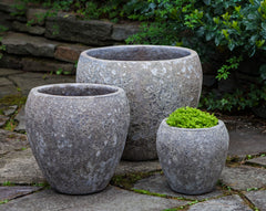 Symi Planter - Set of 3 in Angkor Grey - Soothing Company