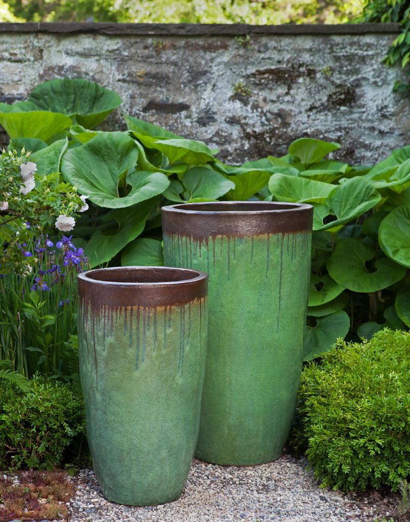 Orion Planter - Set of 2 in Bayou Bronze - Soothing Company