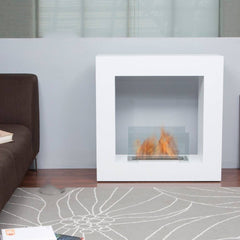 Bio Blaze Small Qube Ethanol Fireplace - Soothing Company