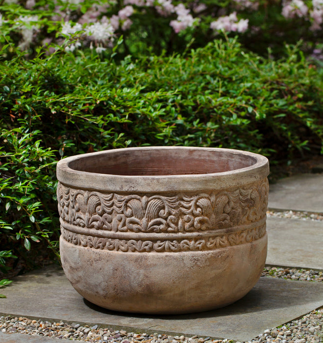 Quebrada Planter - Set of 3 in Antico Terra Cotta - Soothing Company