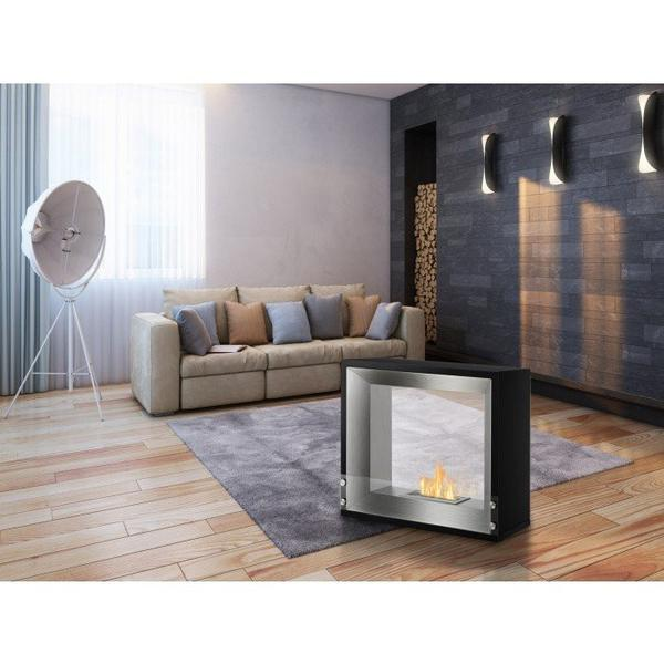Ignis Mecca Freestanding Ventless Ethanol Fireplace - Soothing Company