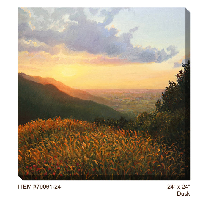 Dusk Outdoor Canvas Art - Soothing Company