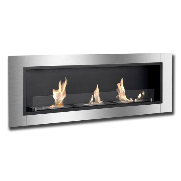 Ignis Ardella Bio Ethanol Recessed Wall Fireplace - Soothing Company
