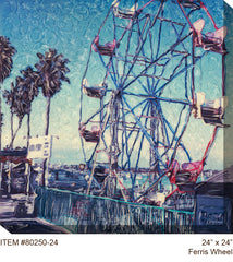 Ferris Wheel Outdoor Canvas Art _ Soothing Company