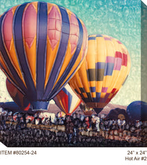 Hot Air #2 Outdoor Canvas Art - Soothing Company