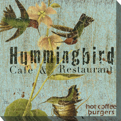 Hummer Cafe Outdoor Canvas Art - Soothing Company