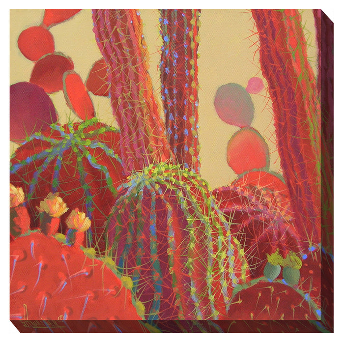 Desert Blooms Outdoor Canvas Art - Soothing Company