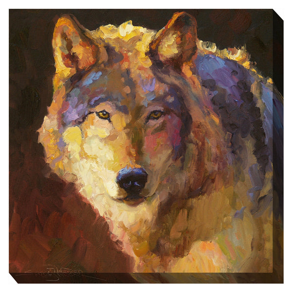 Amadeus Wolf Outdoor Canvas Art - Soothing Company