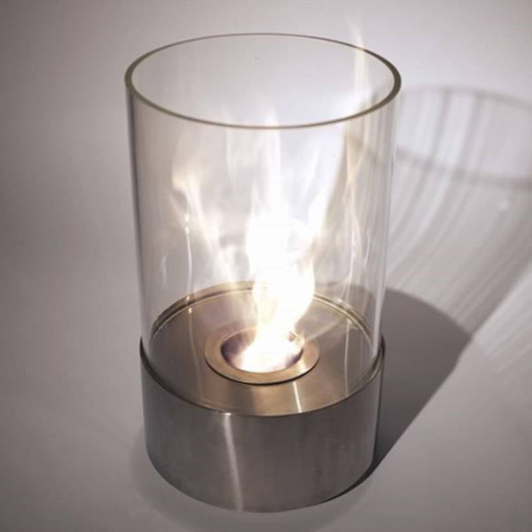 Accenda Cylinder Tabletop Fireplace - Soothing Company