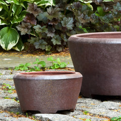 Alma Planter Set of 3 in Asian Earthenware - Soothing Company