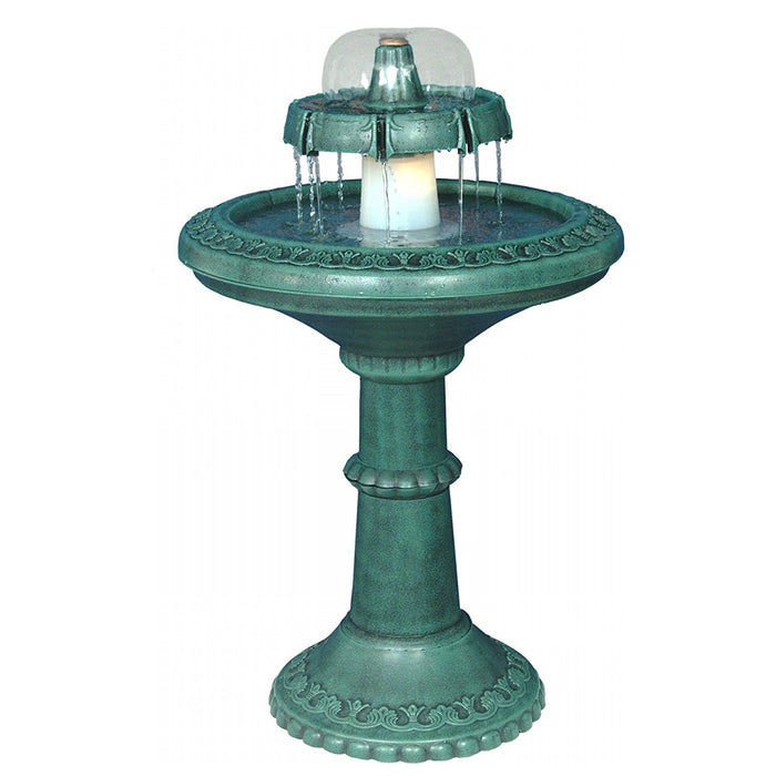 Alpine Fountain With Light -  Soothing Company