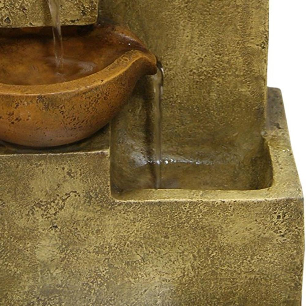 Tiering Pots Tabletop Fountain - Soothing Company