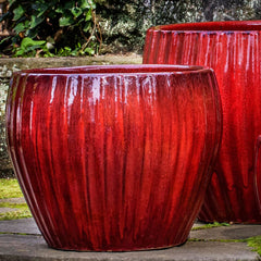 Andromeda Planter - Set of 4 in Macintosh Red - Soothing Company
