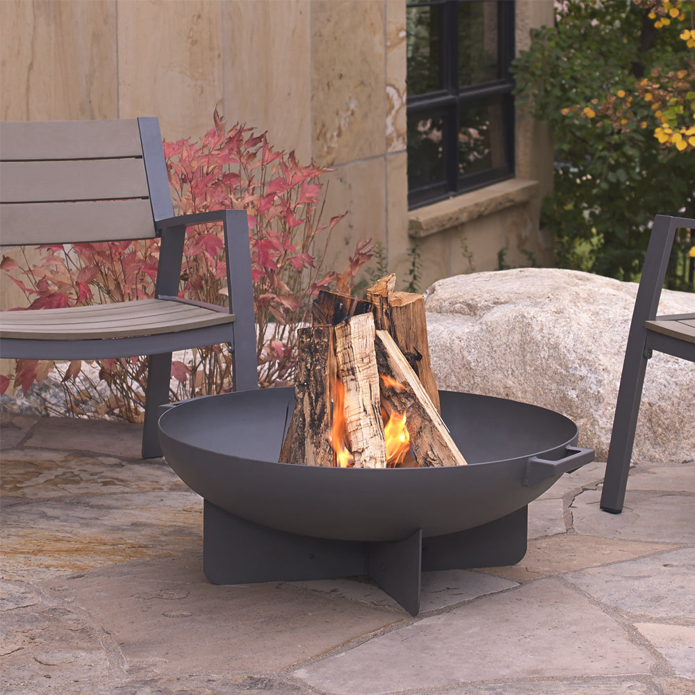 Anson Fire Bowl in Gray - Soothing Company