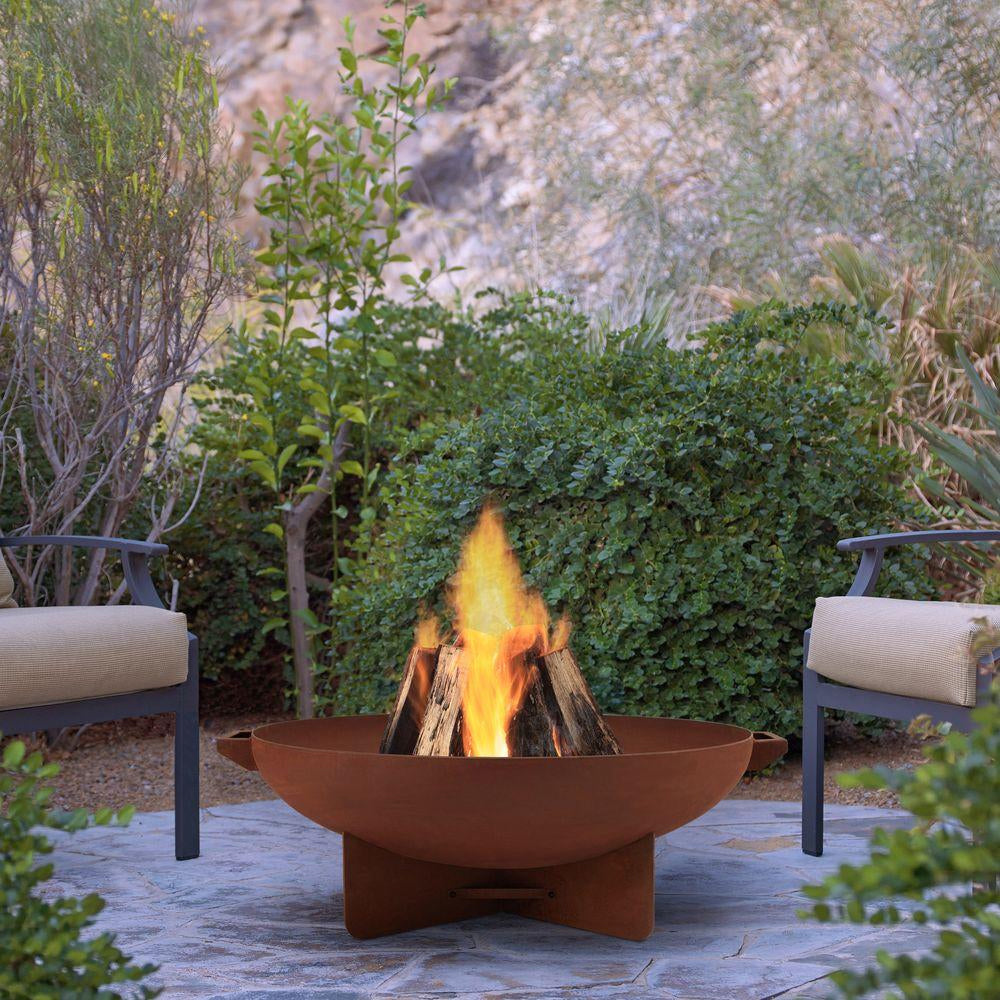 Anson Fire Bowl in Rust - Soothing Company