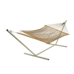 Pawleys Island Large Original DuraCord® Rope Hammock in Antique Brown - Soothing Company