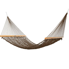 Presidential Size Original DuraCord® Rope Hammock in Antique Brown - Soothing Company