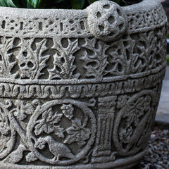Antique Celtic Garden Planter - Soothing Company
