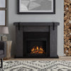 Aspen Electric Fireplace in Antique Gray Barnwood - Soothing Company