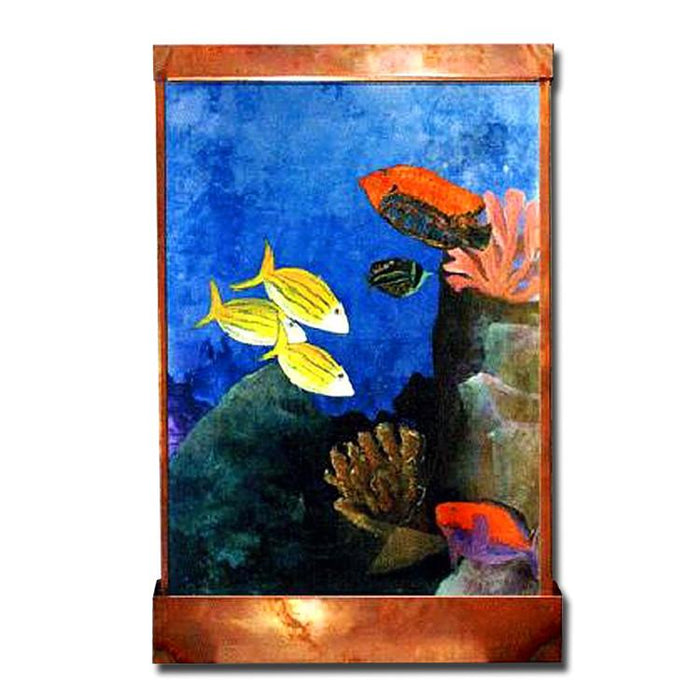 Aquarium Wall Fountain - Soothing Company
