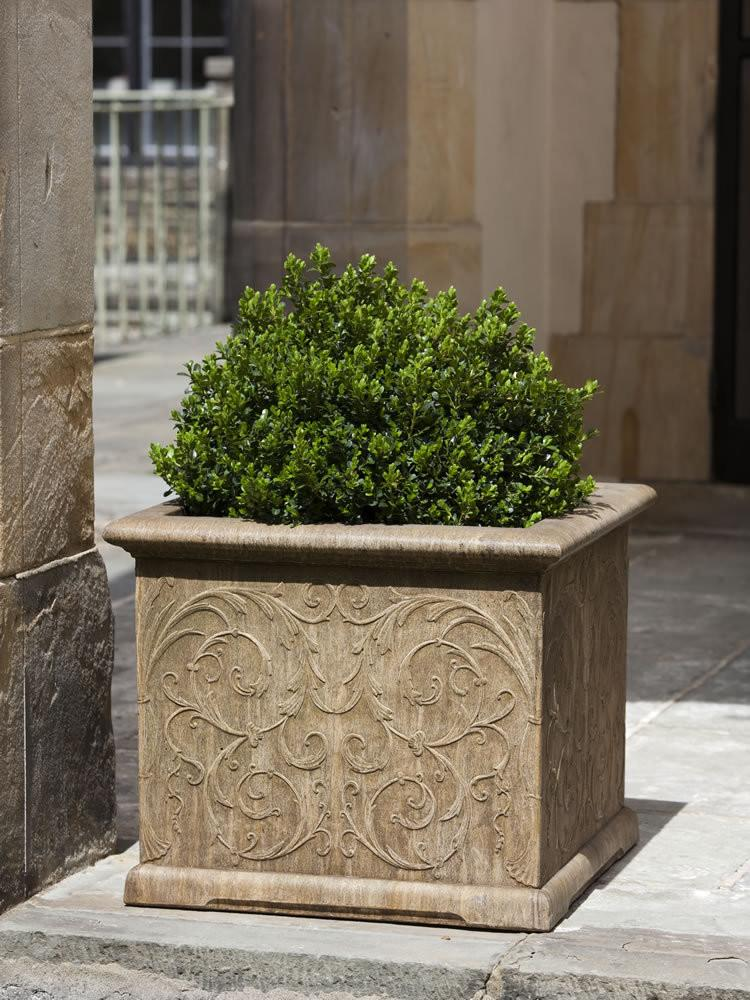Arabesque Square Garden Planter - Soothing Company