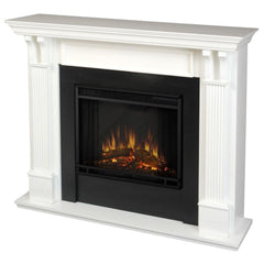 Ashley Electric Fireplace in White - Soothing Company