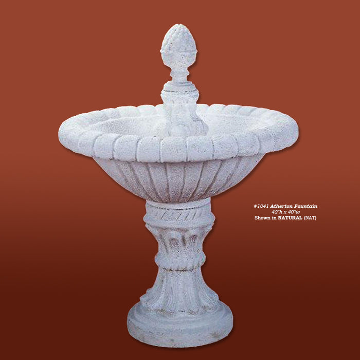Atherton Outdoor Water Fountain - Soothing Company