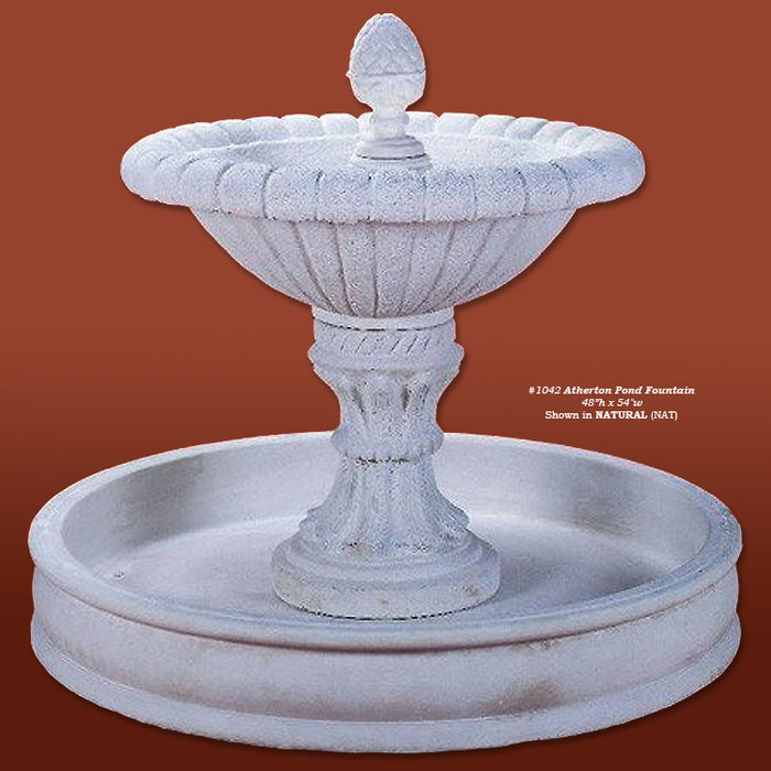 Atherton Pond Outdoor Water Fountain - Soothing Company