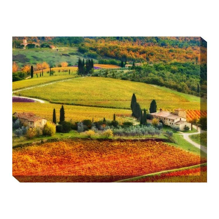 Autunno Outdoor Canvas Art - Outdoor Art Pros