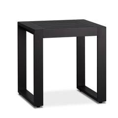 Baltic Outdoor End Tables - Set of Two in Black - Soothing Company
