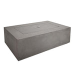 Baltic Rectangle Natural Gas Table in Glacier Gray - Soothing Company
