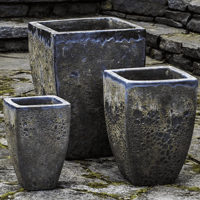 Banteay Planter Set of 3 in Angkor Green Mist - Soothing Company