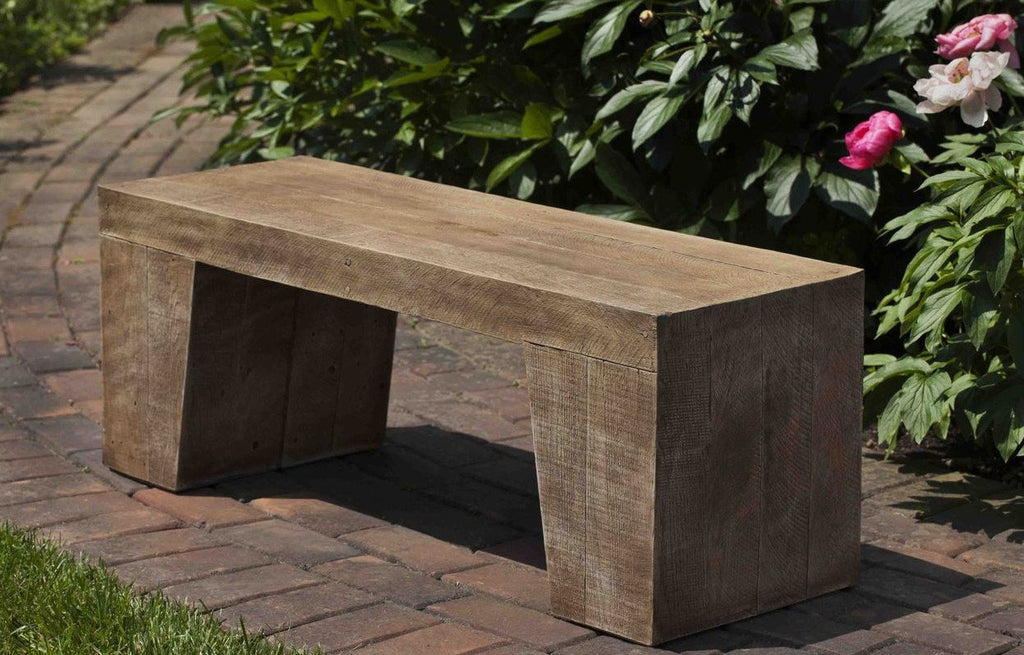 Stone Barn Board Garden Bench - Soothing Company